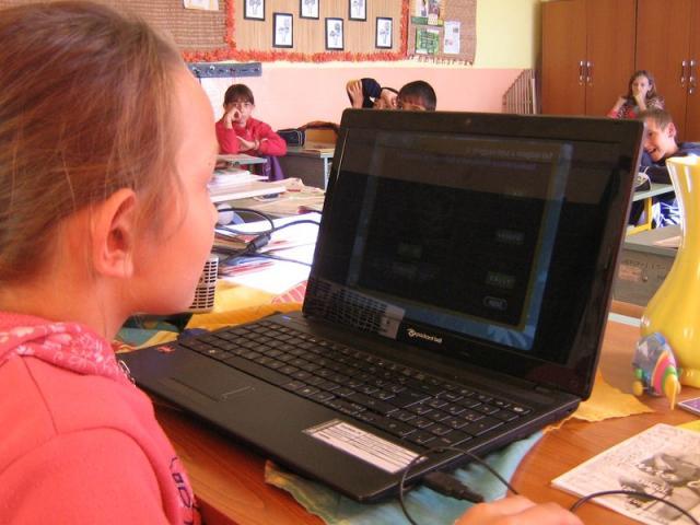 Nagypeterd iskola - digitális készségfejlesztés a laptoppal Nagypeterd iskola