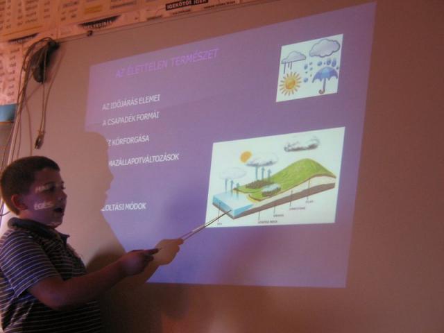 Nagypeterd iskola - Digitális taneszközök használata  Nagypeterd iskola