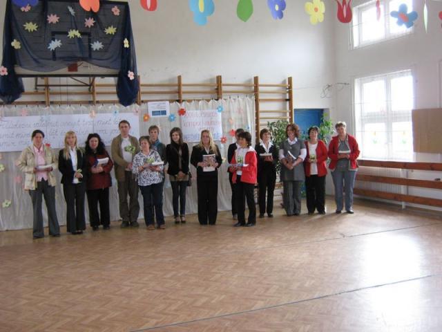 A felkészítő tanárok csapat